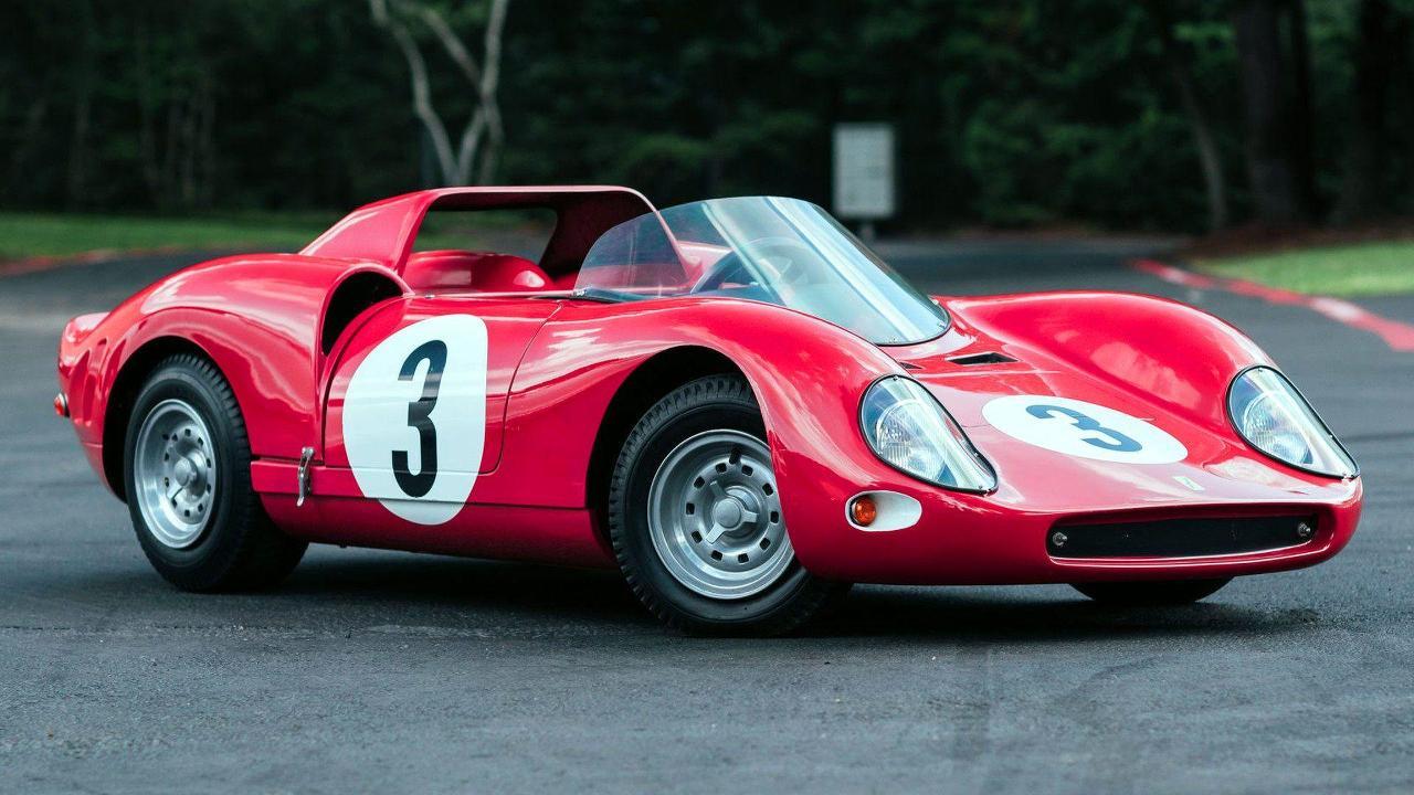 1969 Ferrari 330 P2 Le Mans Junior Replica