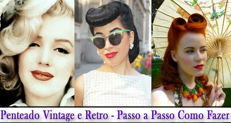 Penteado Vintage