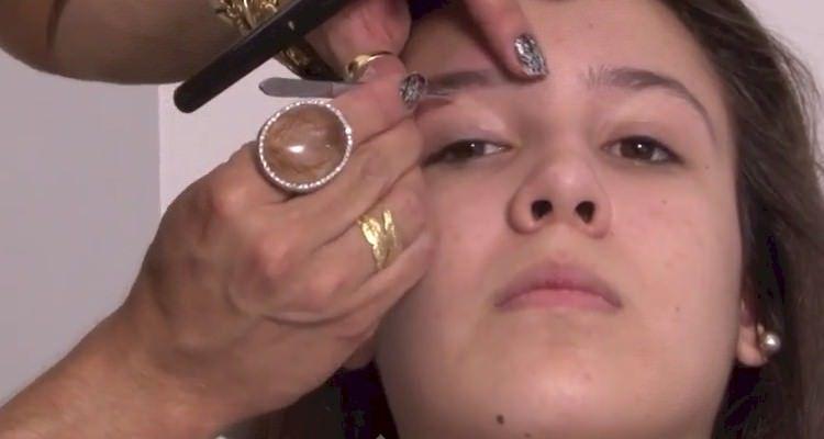 maquiagem pro natal