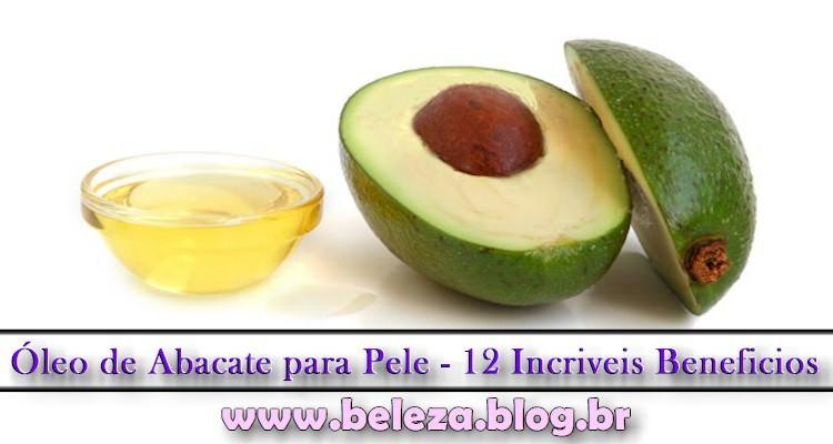 Óleo de Abacate para Pele