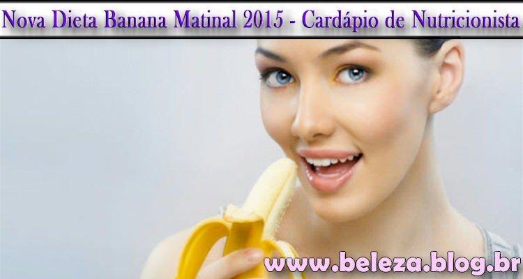 Nova Dieta Banana Matinal