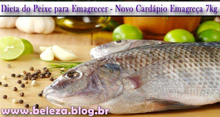 Dieta do Peixe para Emagrecer