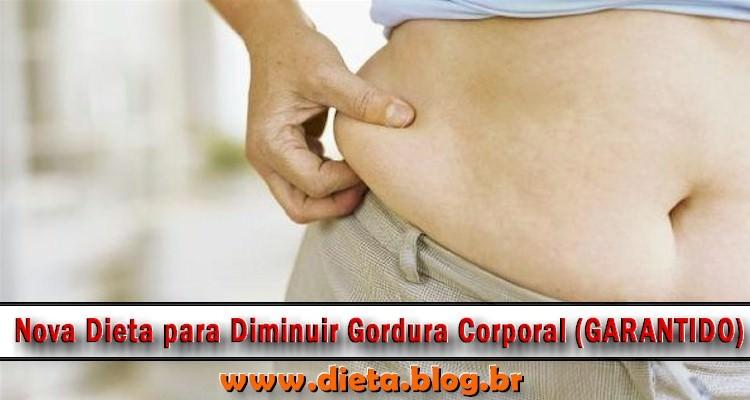 Dieta para Diminuir Gordura Corporal