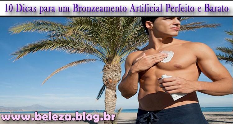 Bronzeamento Artificial