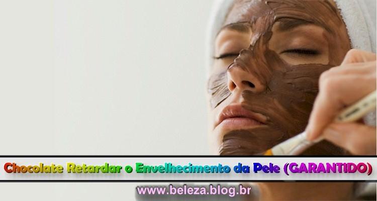 Chocolate Retarda o Envelhecimento da Pele