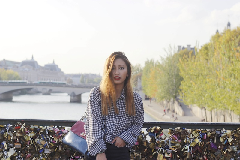 chemise à carreaux boohoo blog mode paris