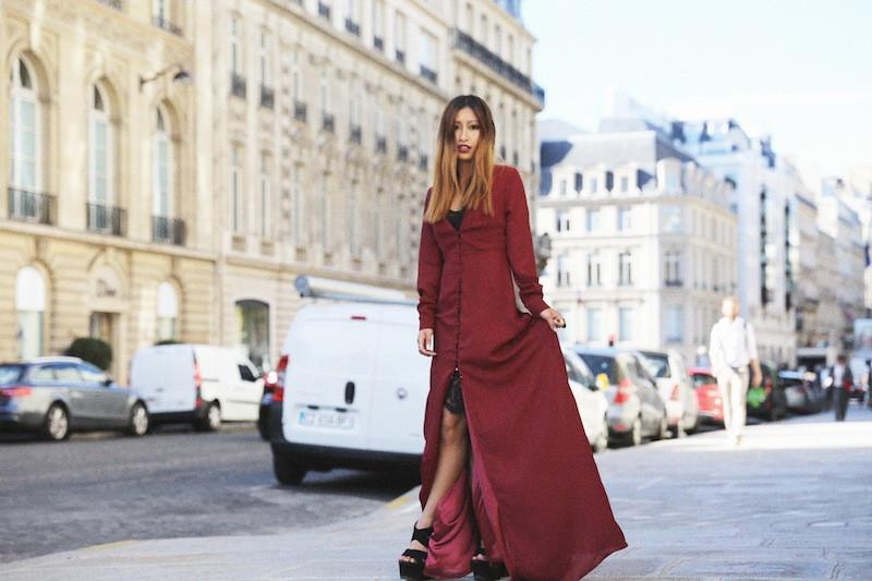 robe dentelle noire zara blog mode