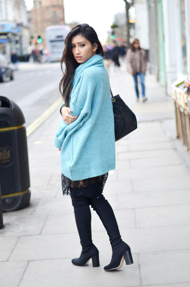 blog mode femme pull bleu
