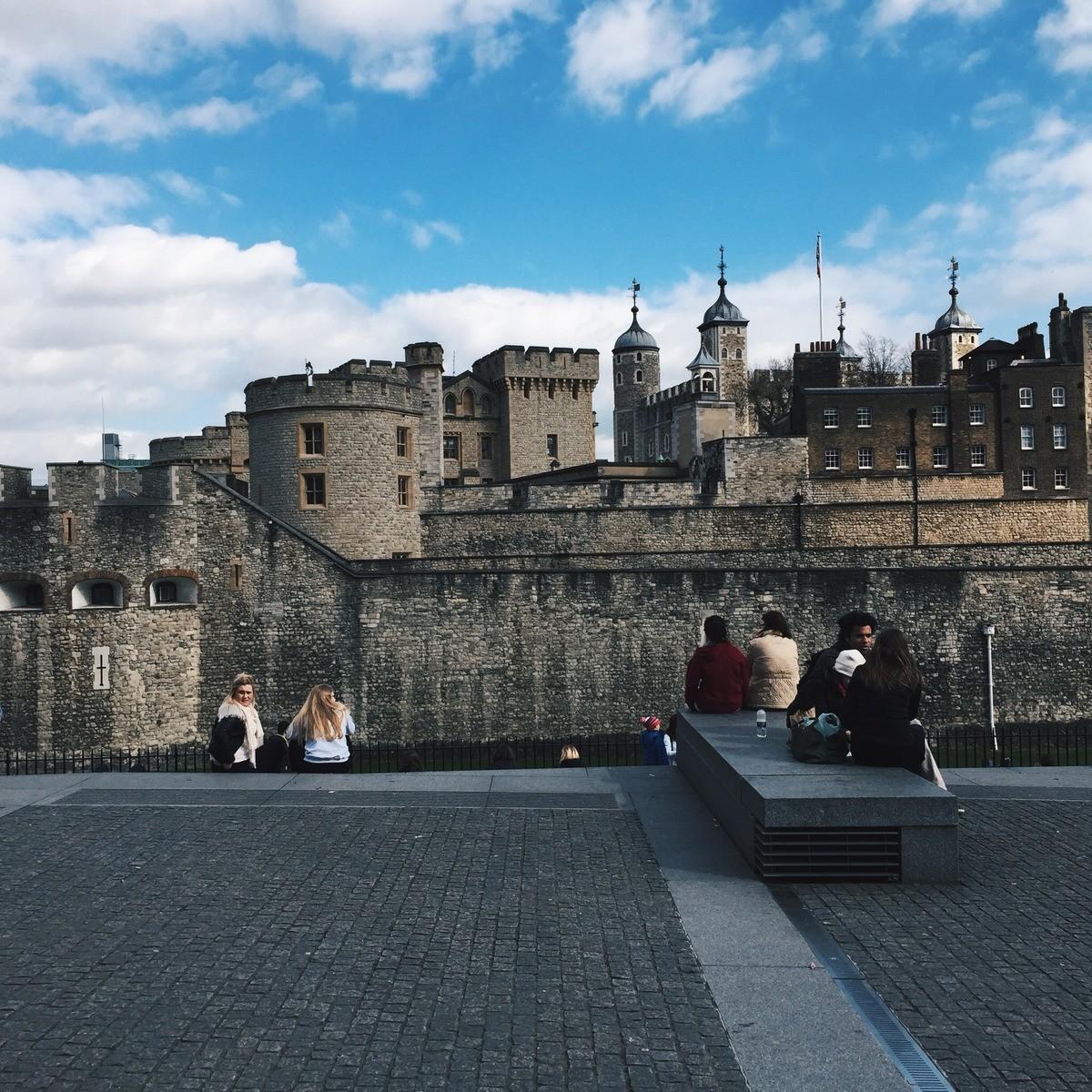 château london bridge blog voyage