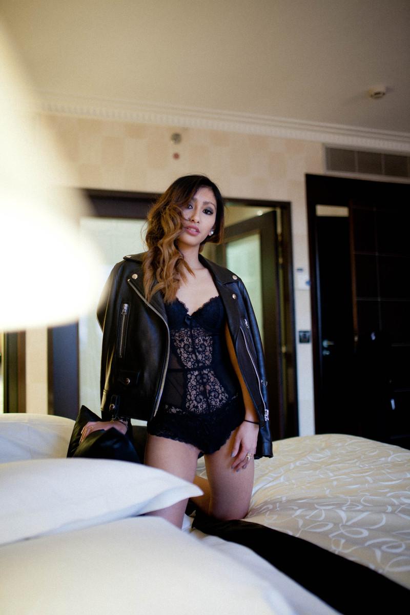 bodysuit en dentelle blog