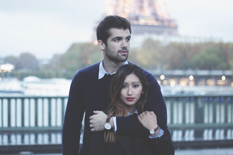daniel wellington watches paris fashion blog