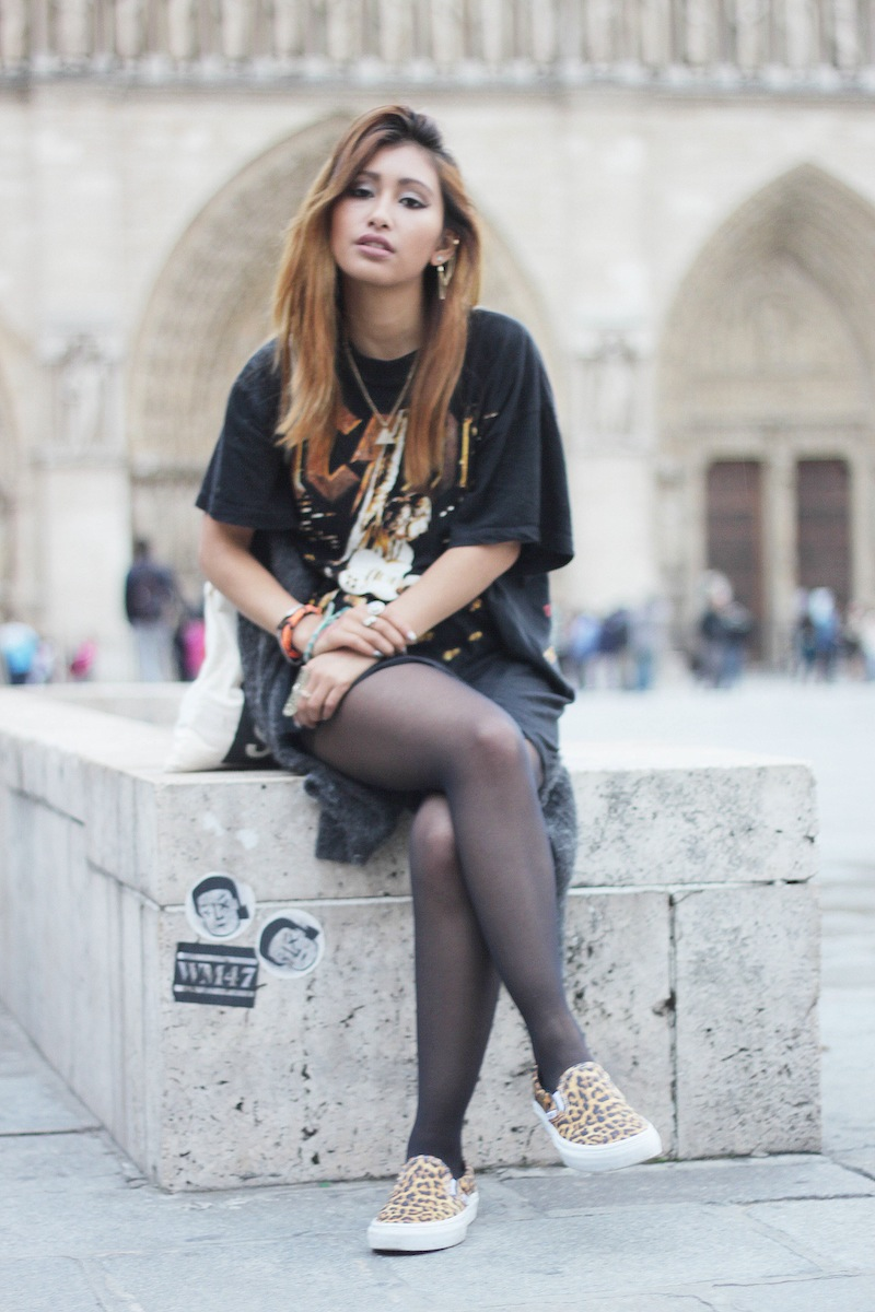 blog mode paris look rock acdc