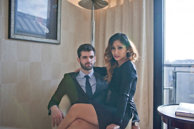 robe noire blog mode paris
