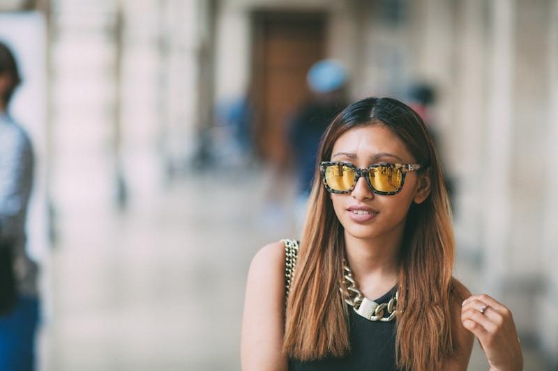 lunettes de soleil marc jacobs miroir blog mode paris