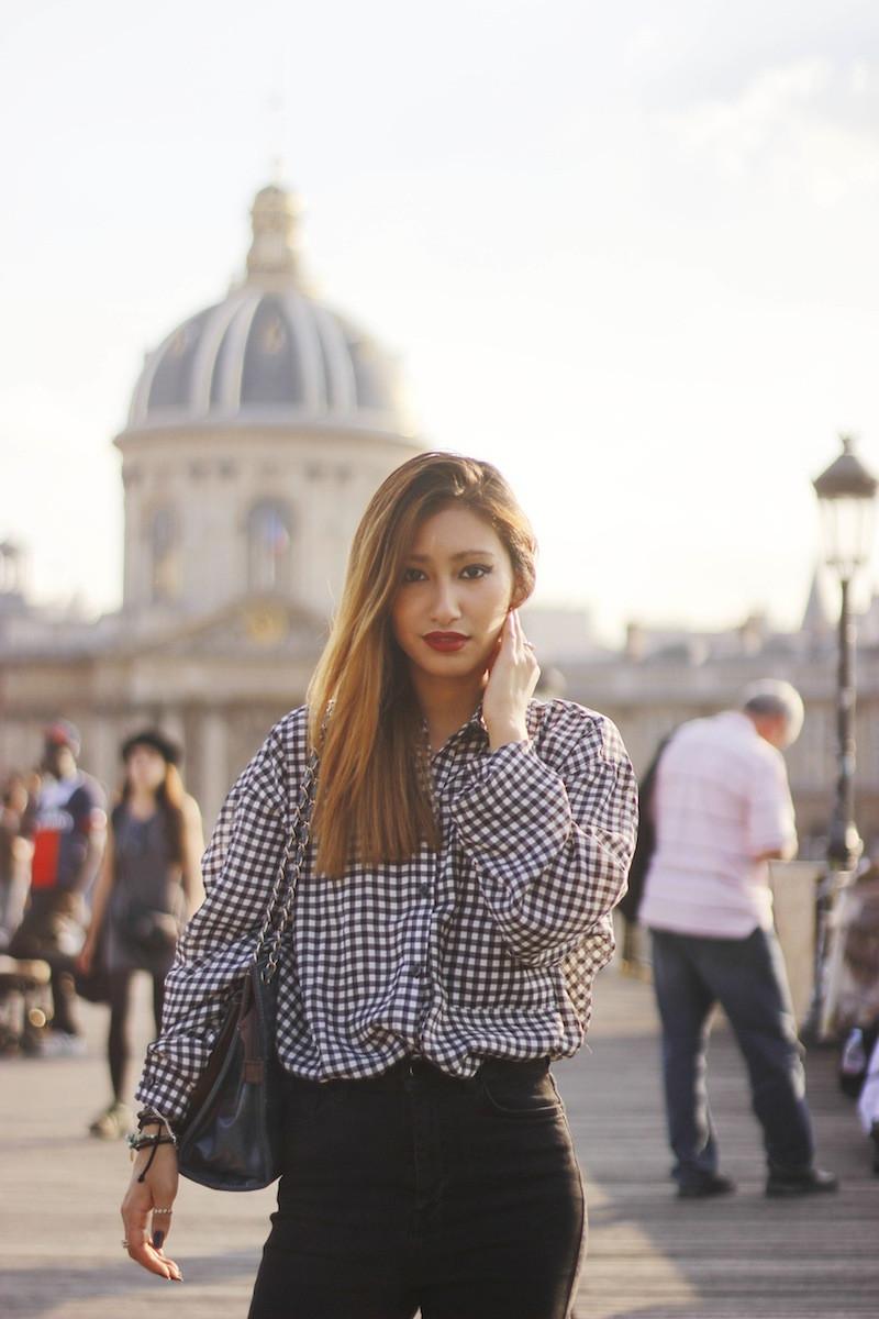 rosapelsblog chemise à carreaux blog mode