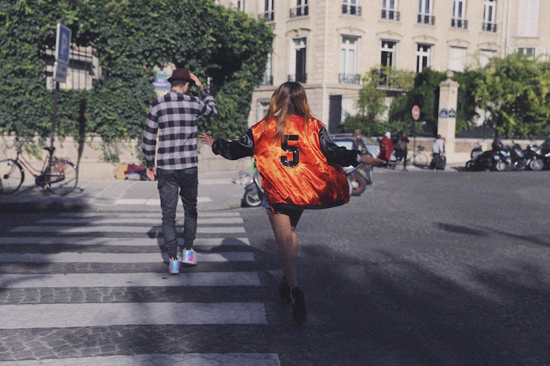 teddy orange boohoo blog mode paris
