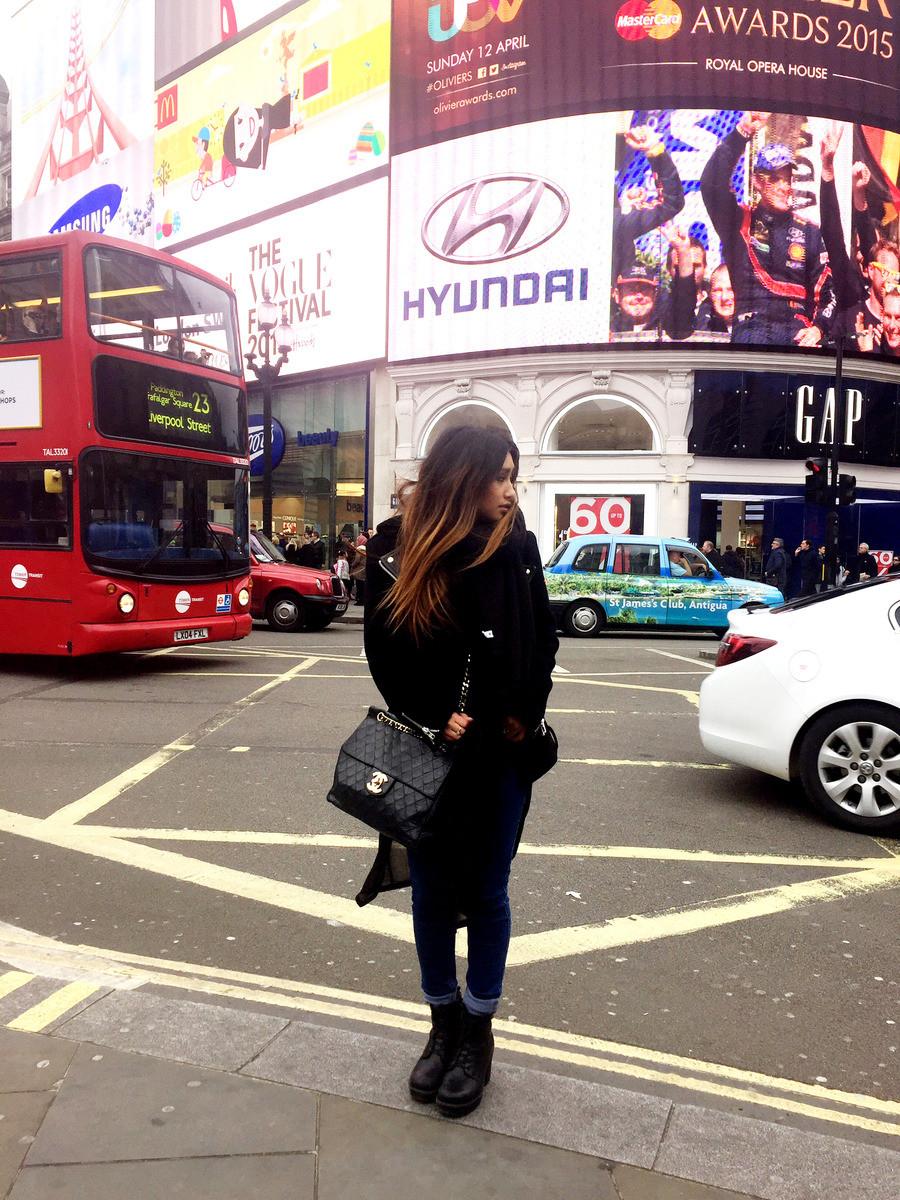 Ma première fois à Londres