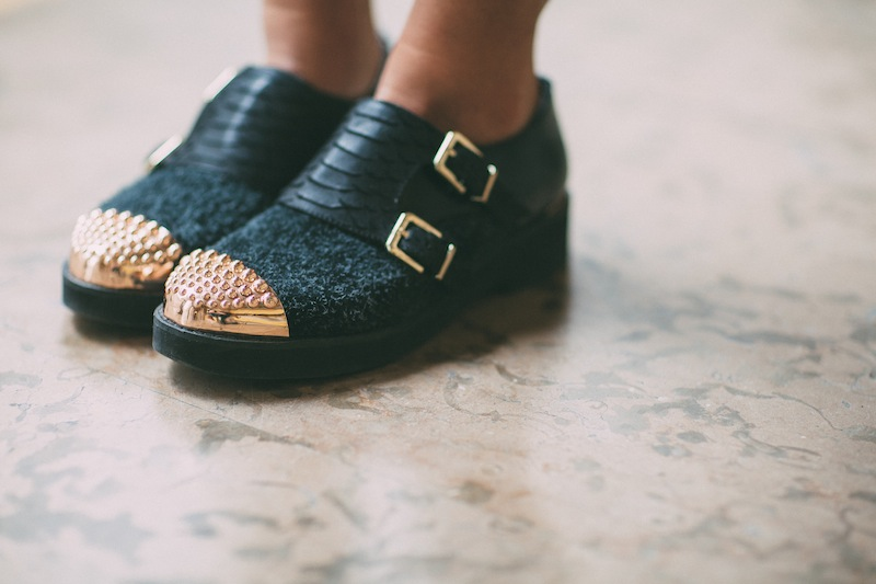 senso shoes gold fashion blog