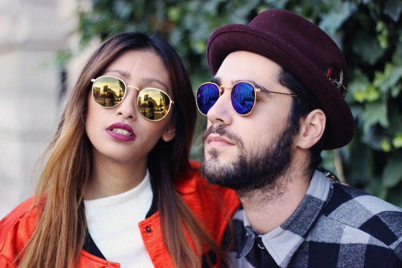 lunettes de soleil rondes miroir blog mode paris
