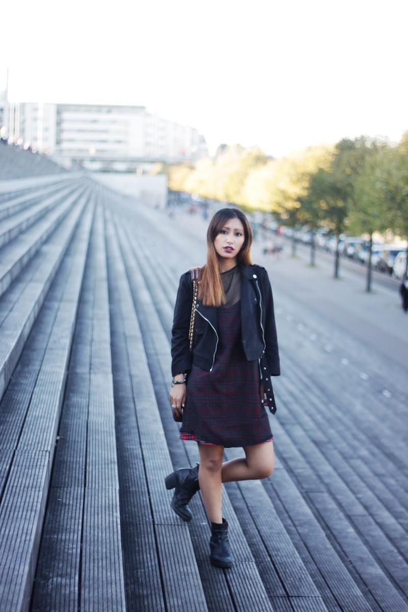 robe transparente noire blog mode