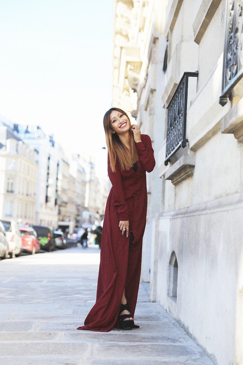 rosapelsblog blog mode paris robe longue