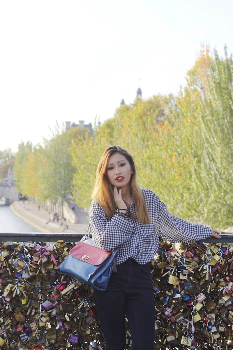 sac bicolor chaîne blog mode