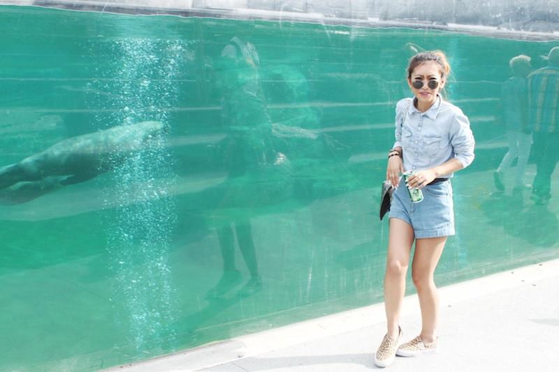 chemise en jeans hm blog mode