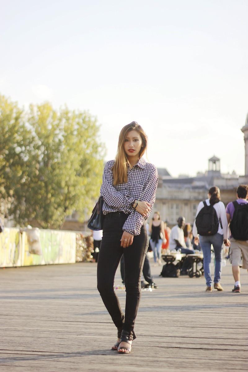 blog mode paris le pont des arts style chic et urbain
