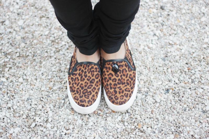 slip on léopard chocolate schubar blog mode