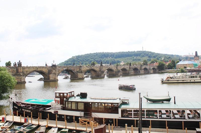 pont charles prague blog voyage