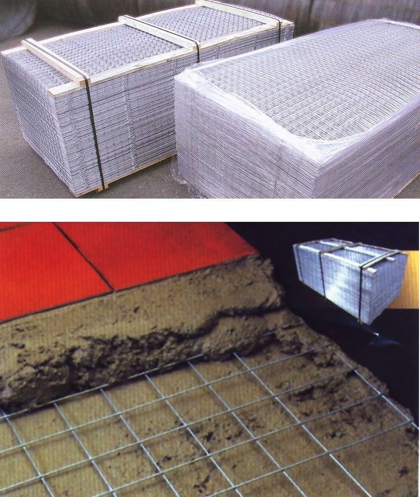 20 pezzi rete elettrosaldata zincata per massetto for Piastrelle 200x100