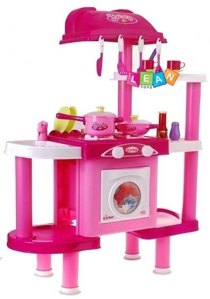 kinderk che mit zubeh r kinderspielk che set waschmaschine. Black Bedroom Furniture Sets. Home Design Ideas