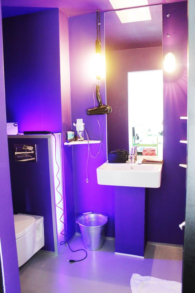 salle de bain fusionhotel prague