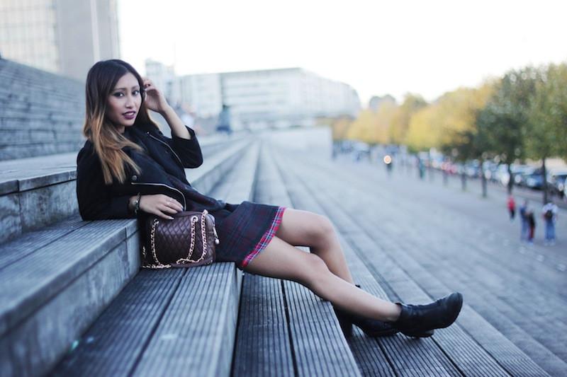 bottines noires blog mode paris