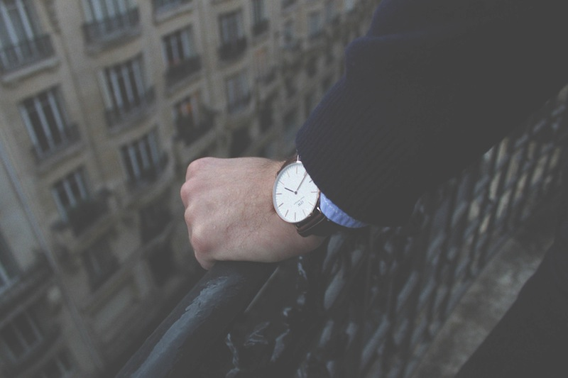 montre homme daniel wellington blog mode paris