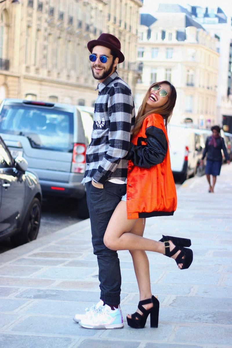 chemise à carreaux blog mode homme paris