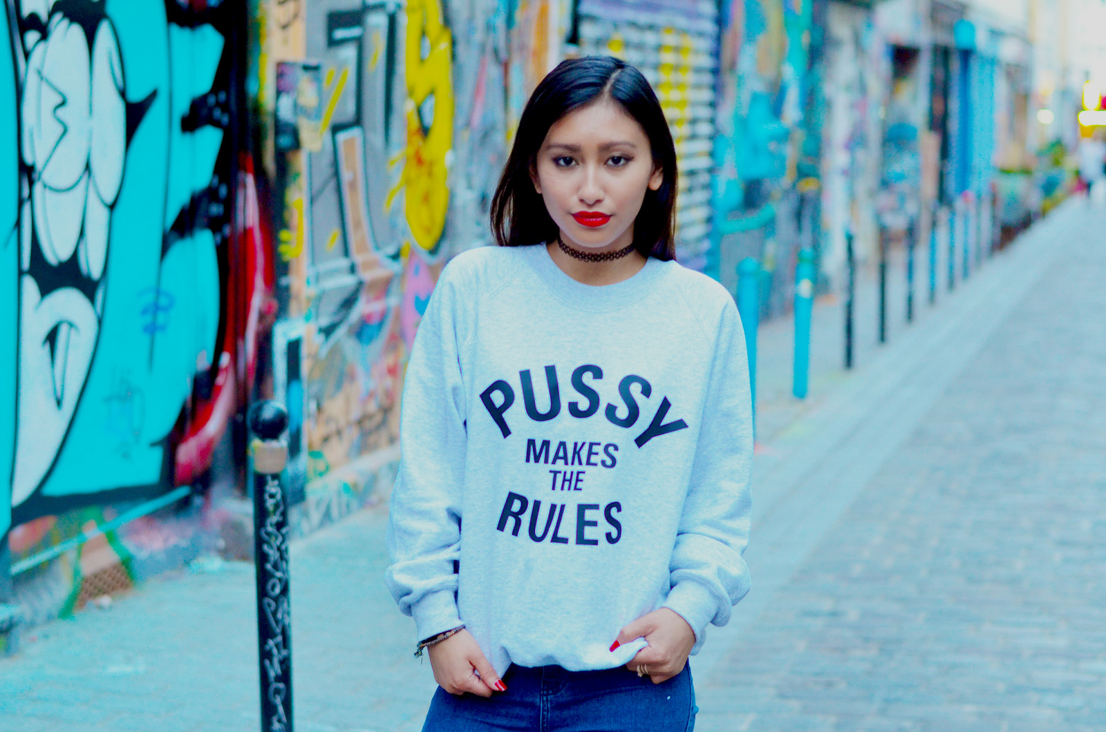 pull gris majeur