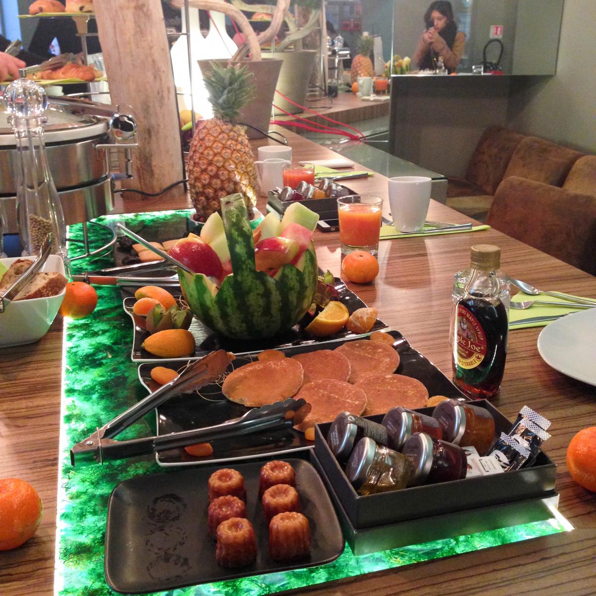 petit déjeuner legend hotel blog voyage