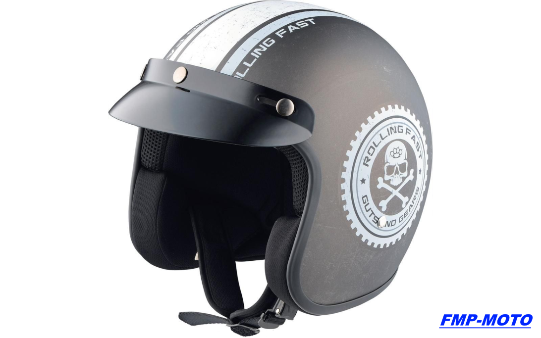 casque moto bol jet mtr pour harley davidson ebay. Black Bedroom Furniture Sets. Home Design Ideas