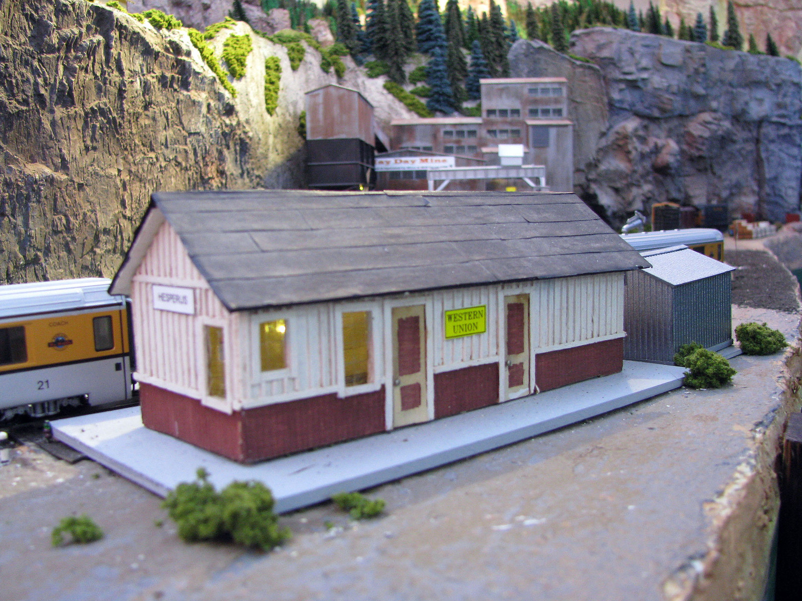 graphic relating to Ho Scale Buildings Free Printable Plans referred to as easy ho scale biulding packages, everybody? - Style Railroader