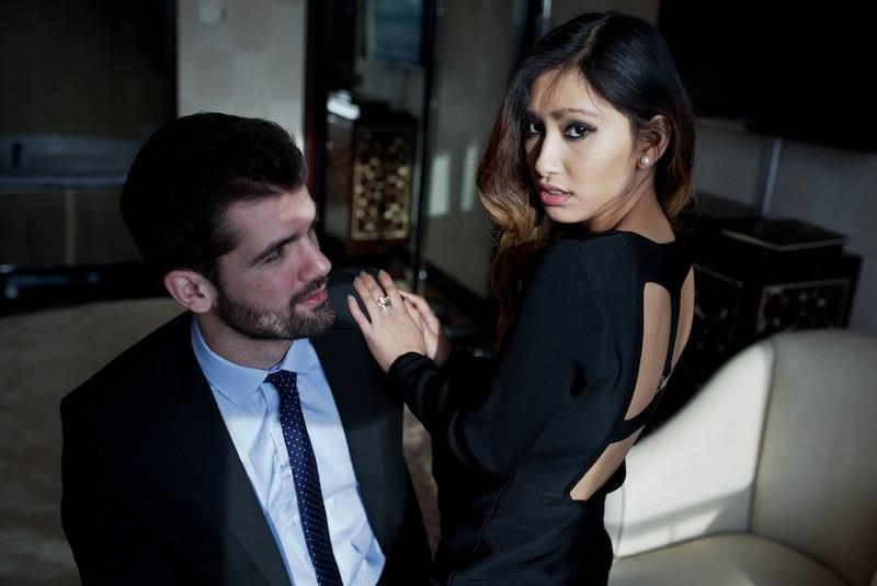 robe noire dos nu nelly blog mode paris