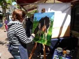 schilderij dieren opdracht