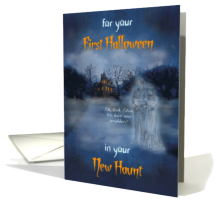 First Halloween in Your New Haunt Card