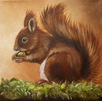dierenschilderij schilderij dieren dier