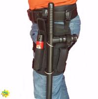 Kit Militar Tatico Cacetete + Porta Tonfa + Cinto Tatico