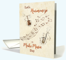 Make Music Day Card