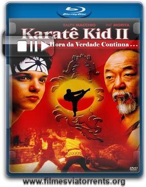 Karate Kid II - A Hora da Verdade Continua Torrent - BluRay Rip 720p e 1080p Legendado (1986)