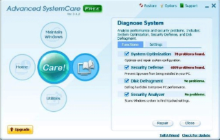 how to delete advance pc care