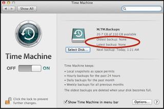 mac time machine failed backup