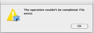 mac copy error file already exists